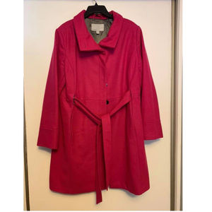 Hot Pink Old Navy Over Coat